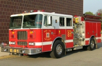 Engine 81. 1996 Seagrave Fire Engine