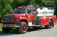 Tanker 81. 1986 FMC tanker on Ford chassis